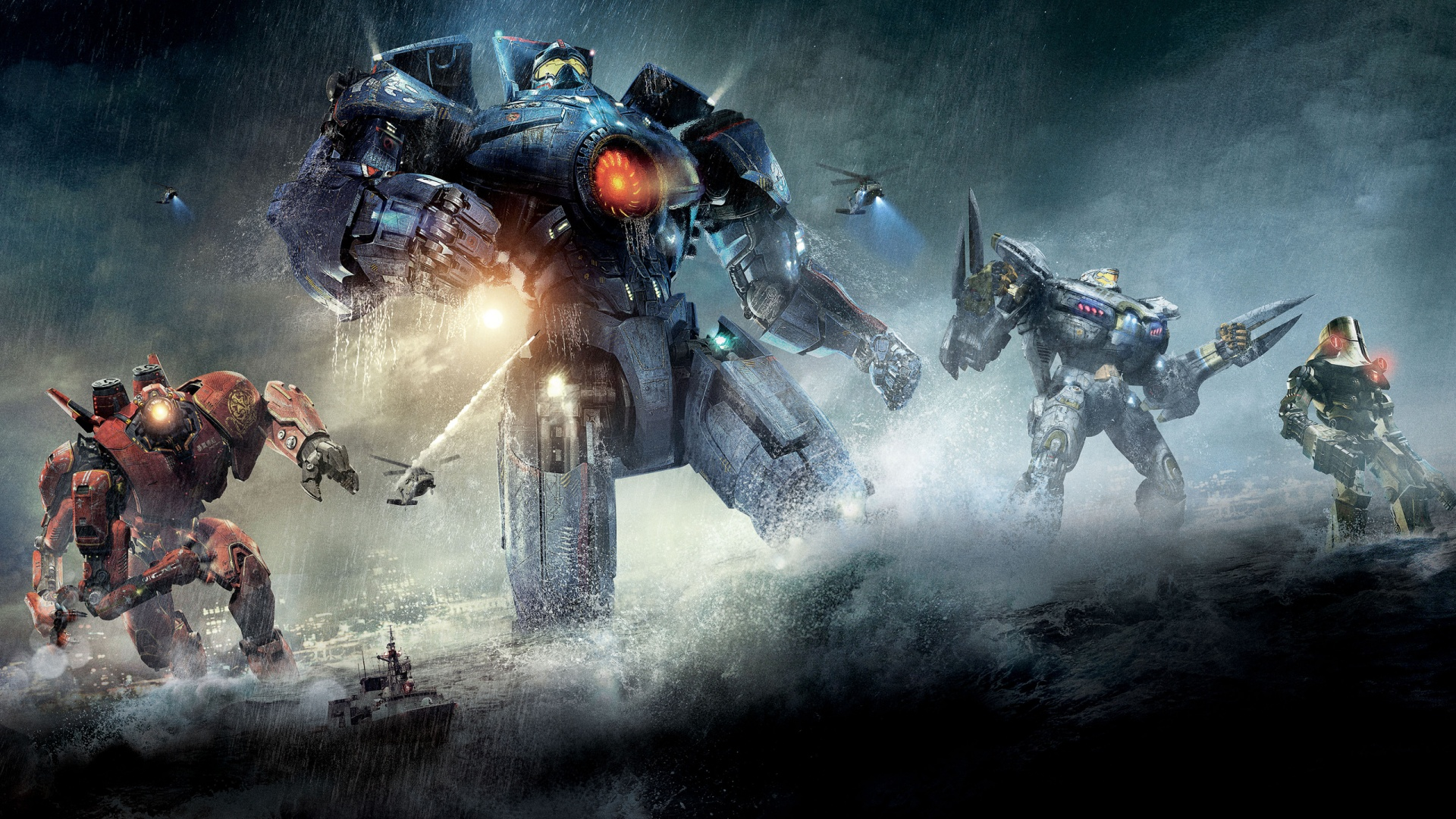 Eating Nerdy – Ideas on a Theme – Pacific Rim