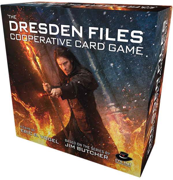 Malts and Meeples – Dresden Files Cooperative Card Game