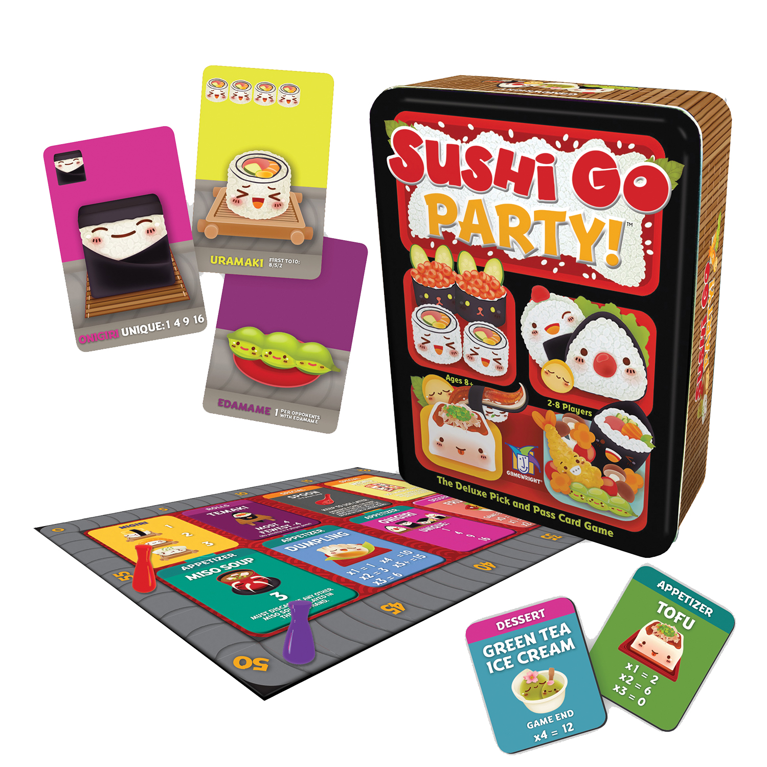 TableTopTakes: Sushi Go Party!