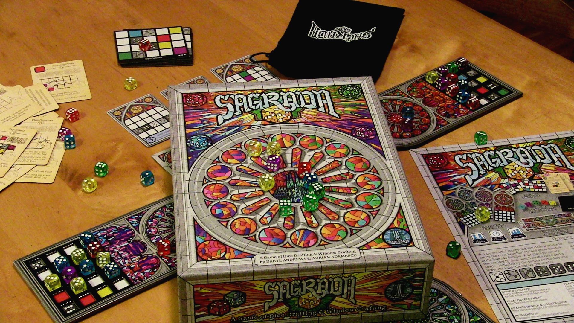 Board Game Battles: Roll Player vs Sagrada