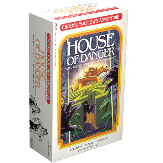 TableTopTakes: Choose Your Own Adventure: House of Danger