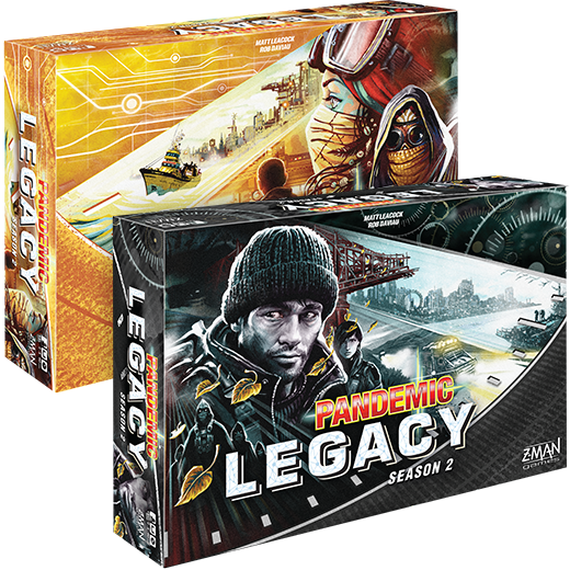 Board Game Battles: Pandemic Legacy vs Pandemic Legacy