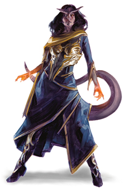 Dungeons and Dragons Character Race – Tiefling