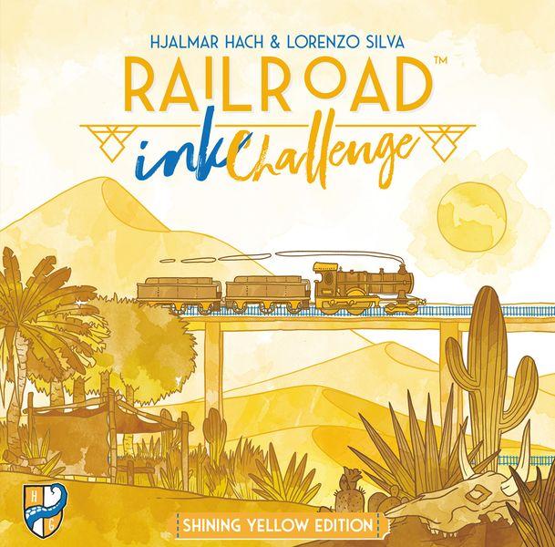 Back or Brick: Railroad Ink Challenge