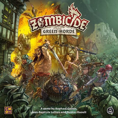 Malts and Meeples – Unboxing – Zombicide Green Horde