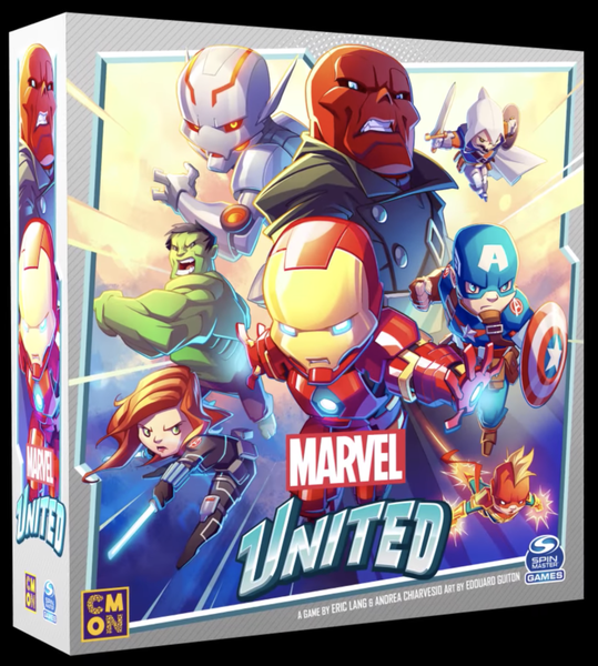 Beyond The Box Cover: Marvel United