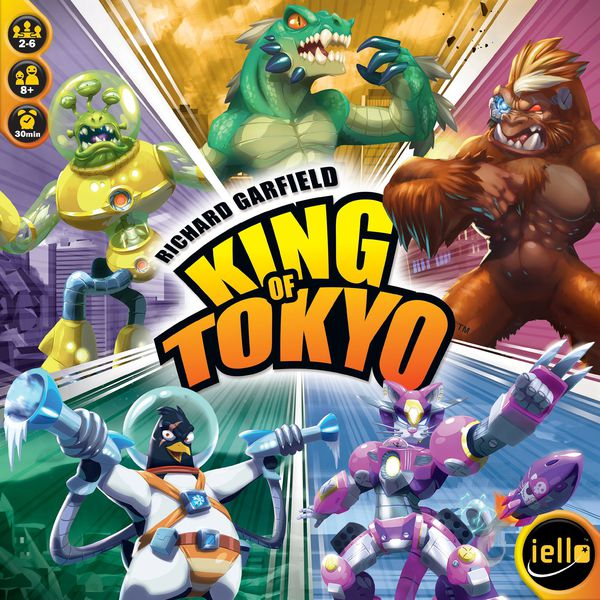 Board Game Battle: Dice Throne vs King of Tokyo