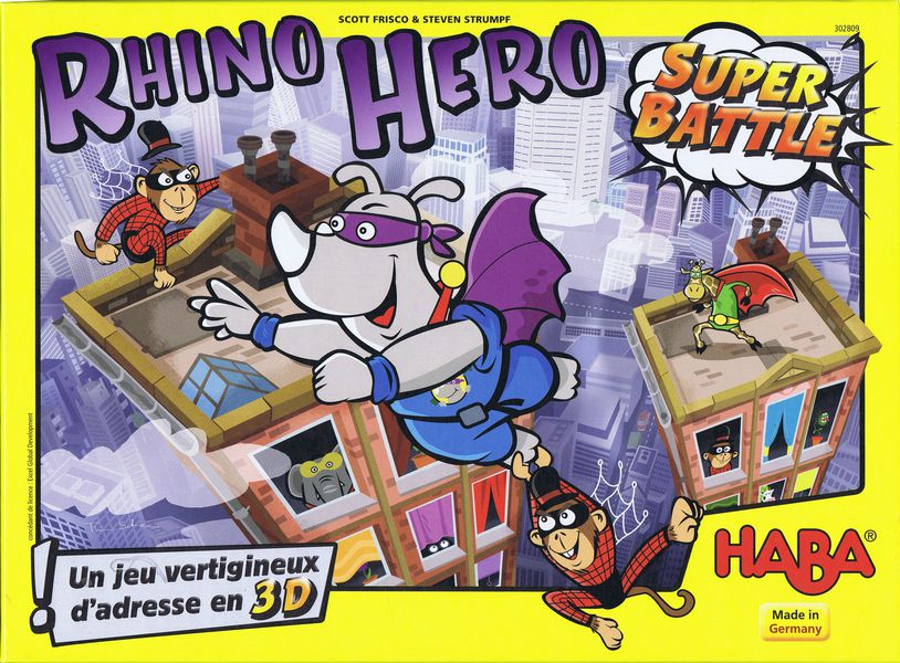 Point of Order: GenCon Order 2 – Rhino Hero Super Battle