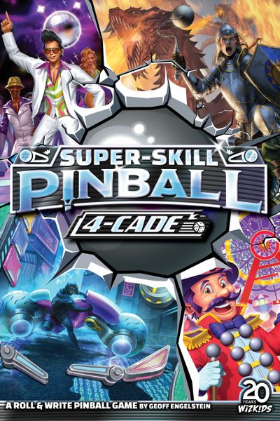 Beyond the Box Cover: Super-Skill Pinball 4-Cade